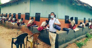झारखंड के इस गांव में दीवारों पर होती है पढ़ाई, एक टीचर की पहल के अधिकारी से लेकर सीएम हेमंत सोरेन तक कायल