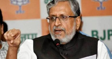 बिहार के उपमुख्यमंत्री सुशील कुमार मोदी कोरोना पॉजिटिव पटना एम्स भर्ती