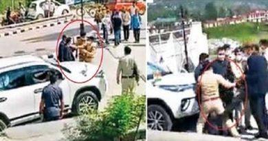 CM के सामने SP गौरव सिंह ने SSP बृजेश सिंह को मारा थप्पड़, PSO बलवंत ने एसपी को मारी लातें